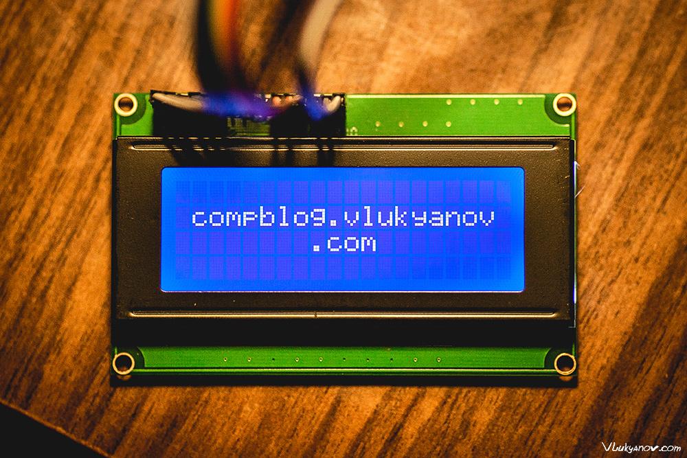 Блог о компьютерах  и компьютерной технике, Москва, Владимир Лукьянов, Arduino, Дисплей, J204A, HD44780